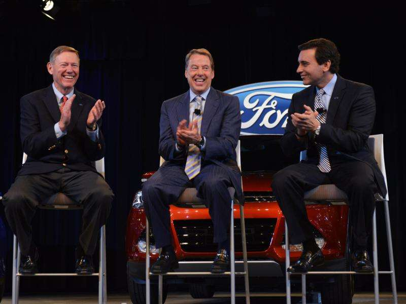 Alan Mulally Announces His Departure As Ford CEO