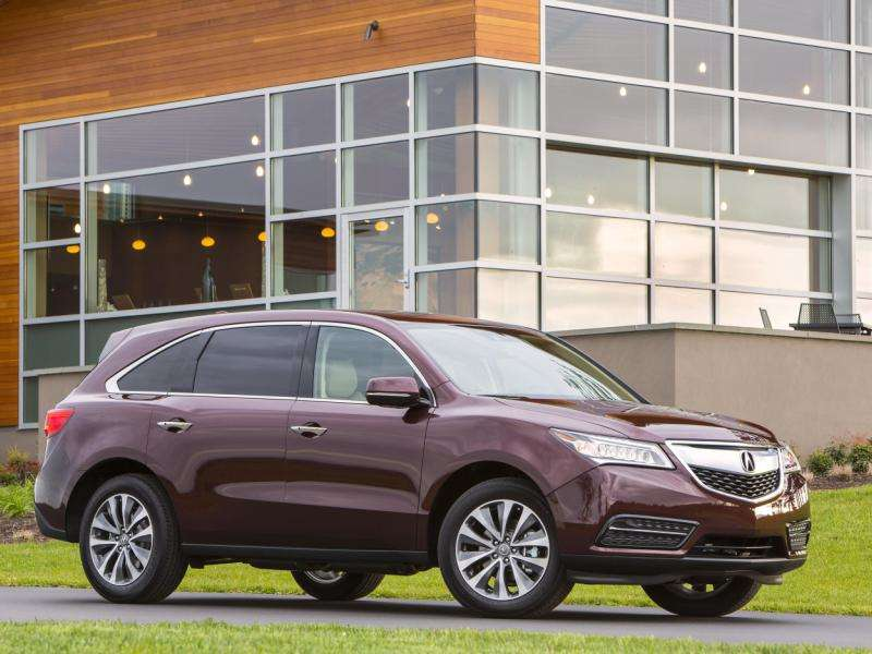 2014 Acura MDX Road Test & Review