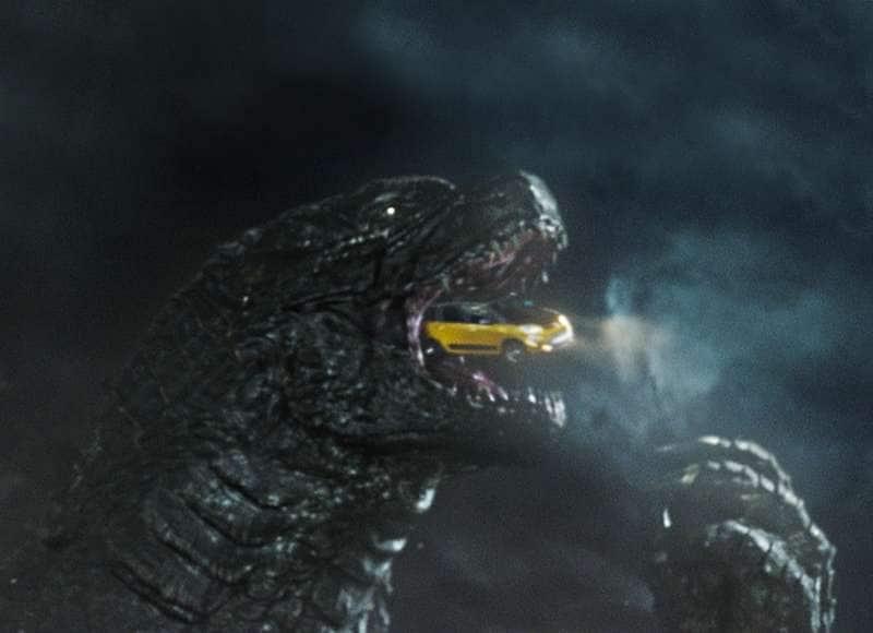 Now Showing: Godzilla vs. 2014 Fiat 500L