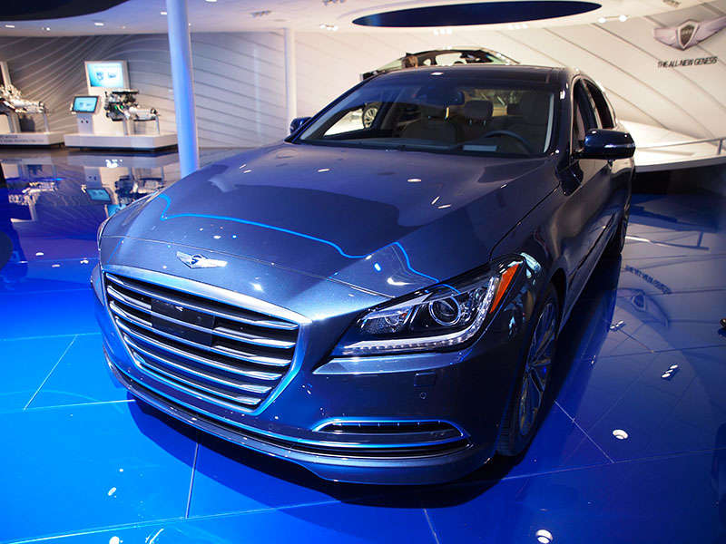 2015 Hyundai Genesis Joins Top Safety Pick+ List