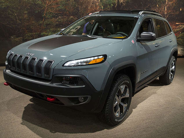2014 Jeep Cherokee Cleans up at Mudfest