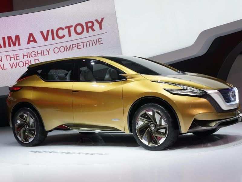 2015 Nissan Murano: Behind-the-scenes Style Details