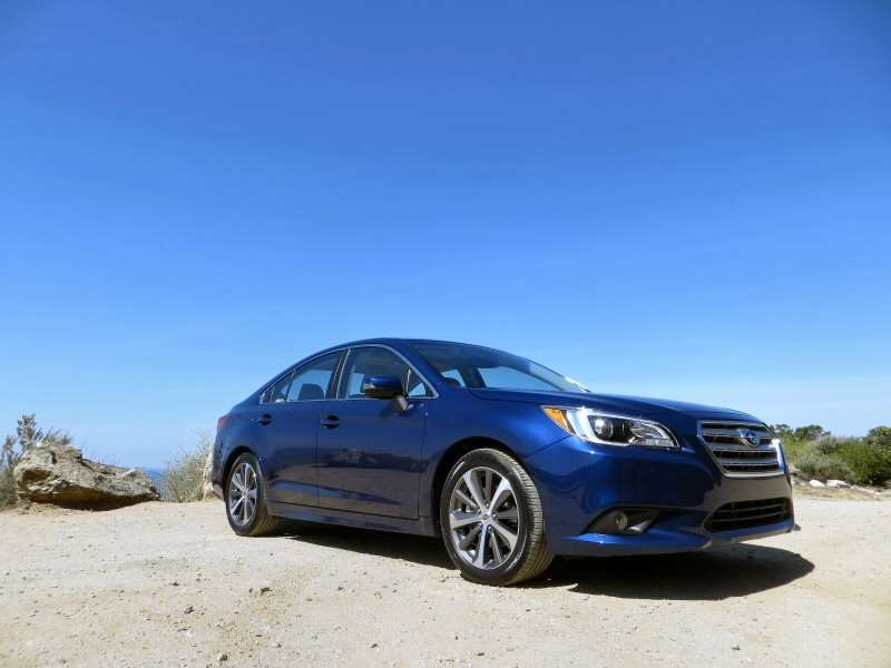 2015 Subaru Legacy Mid-Size Sedan First Drive