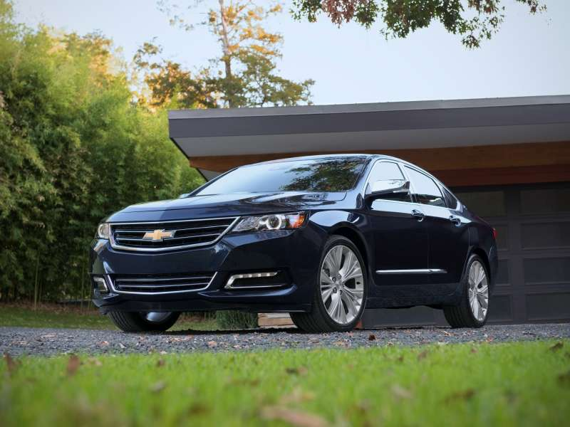 Stop/Start Standard on 2015 Chevy Impala