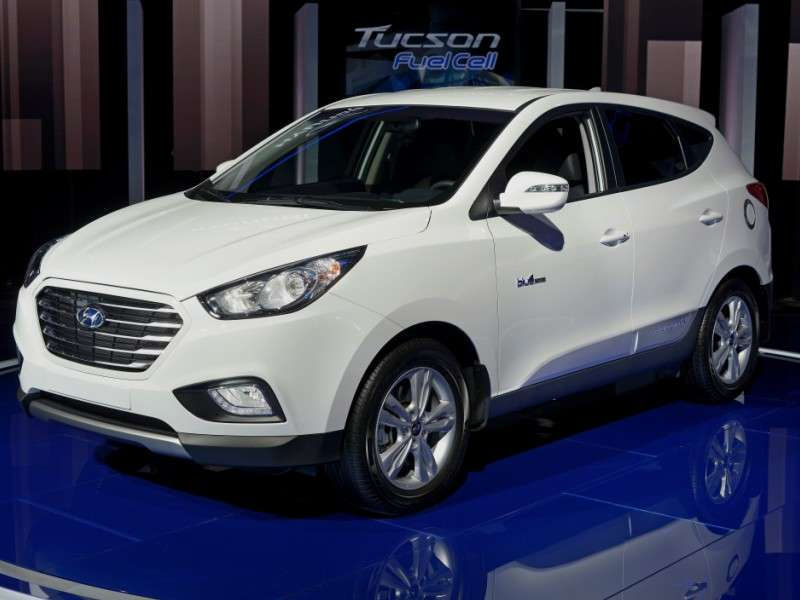 What is the hyundai tucson fuel cell for Motor vehicle department tucson
