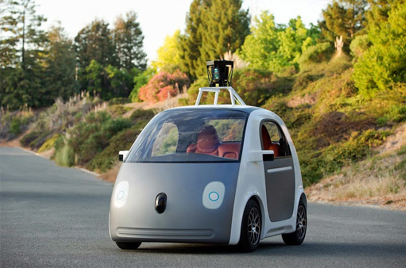 Google Unveils Their Self-Driving Car