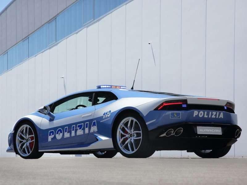 Lamborghini Donates Huracán LP 610-4 to the Italian State Police