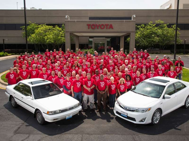Toyota Celebrates 10 Millionth Vehicle Built In Kentucky
