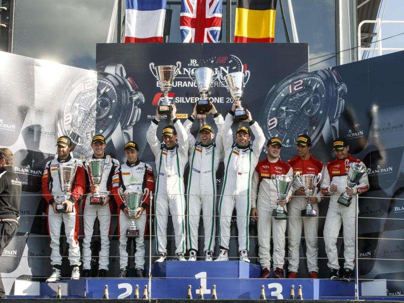 Bentley Continental GT3 Takes Home First Win
