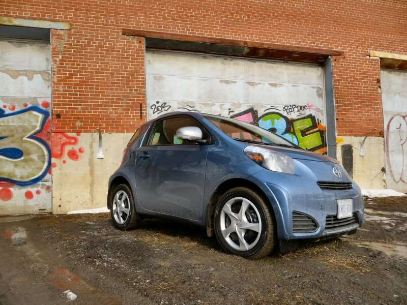 2014 Scion iQ Subcompact Hatchback Quick Spin Review