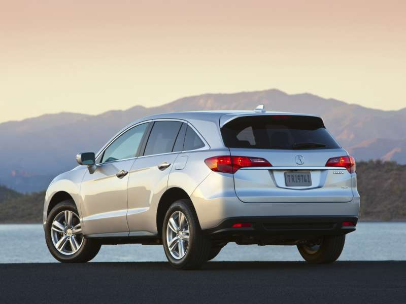 2014 acura rdx road test review. Black Bedroom Furniture Sets. Home Design Ideas