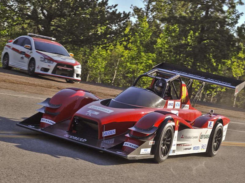 Mitsubishi Heads To Pikes Peak With MiEV Evolution III