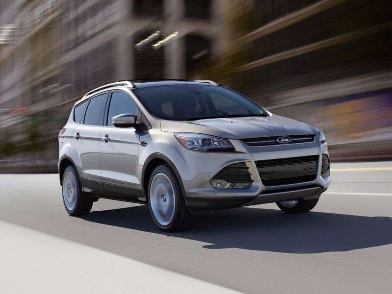 Best 4 Cylinder SUVs for 2014 - 02 - 2014 Ford Escape