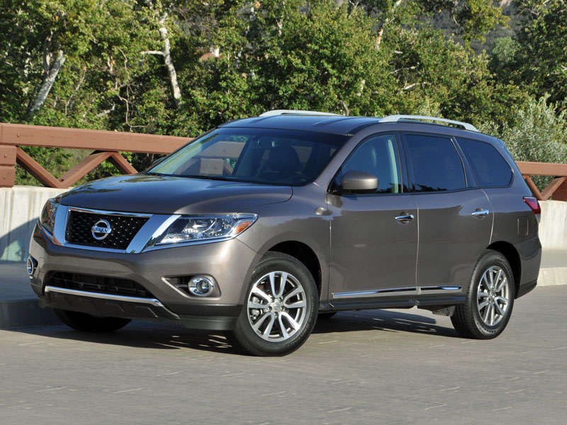 2015 Nissan Pathfinder Adds More Safety Features