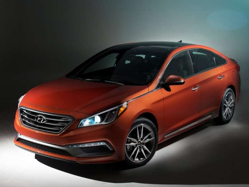 2015 Hyundai Sonata Serves Eco Model with 32 MPG Combined