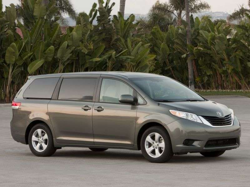 top rated minivans for 2014