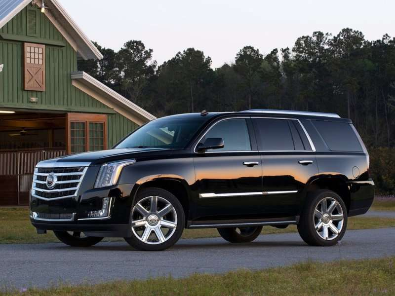 02. The 2015 Cadillac Escalade Rides On An Updated Platform