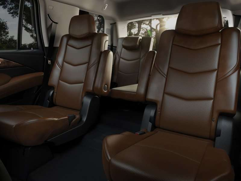 04. The 2015 Cadillac Escalade Introduces Redesigned Third Row Seats