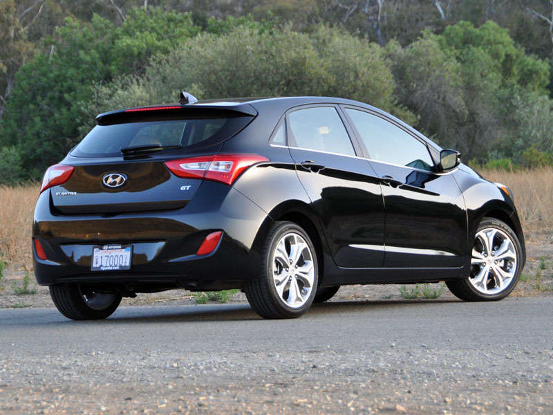2014 Hyundai Elantra GT Review and Quick Spin  About Our Test CarHyundai Elantra 2014 Black