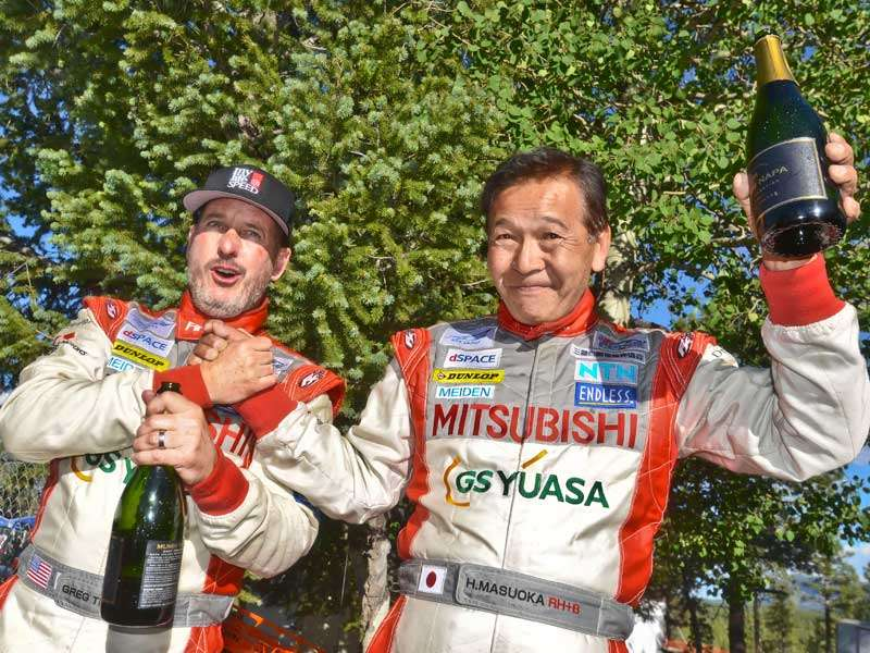 Mitsubishi Finishes 1-2 In The Pikes Peak Hill Climb