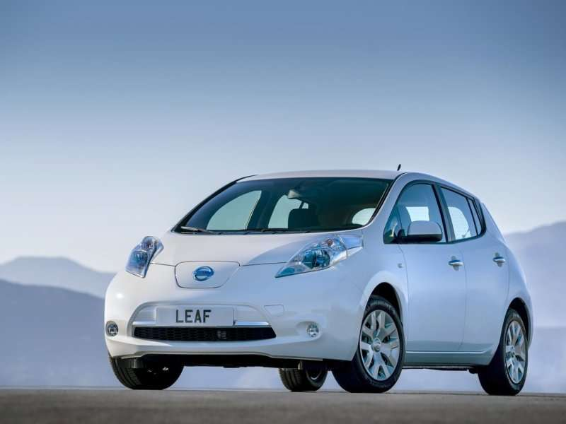 2014 Nissan Leaf Leads Brand to June Sales Record