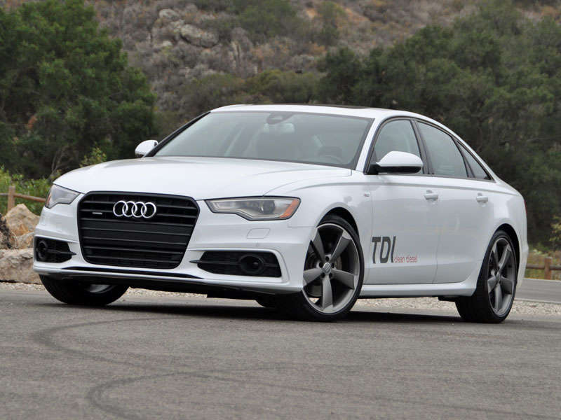 2014 Audi A6 TDI Clean Diesel Review and Quick Spin