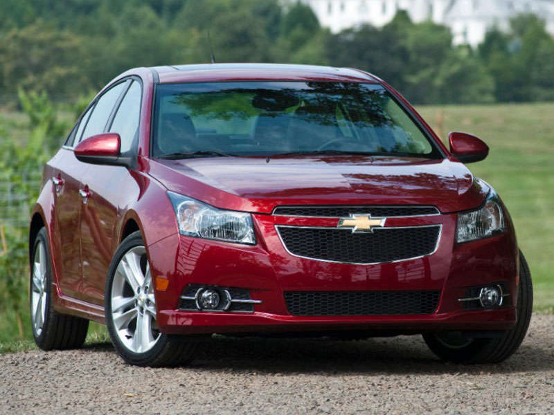 Chevy Cruze 2015 White
