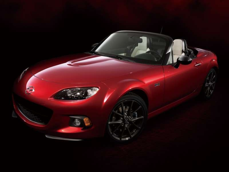 What Is The Mazda MX-5 Miata 25th Anniversary Edition?