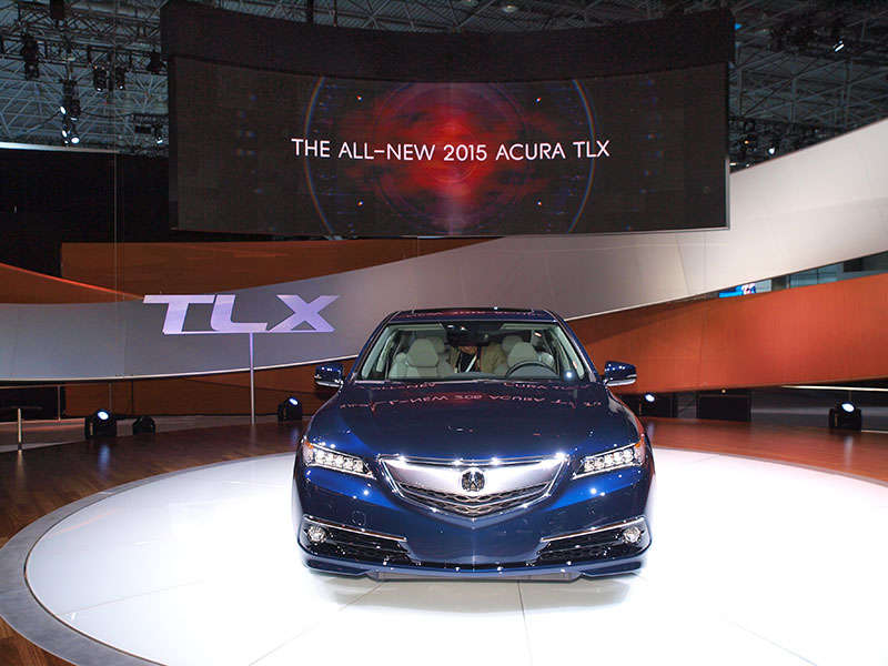2015 Acura TLX Coming with Special Launch Incentives