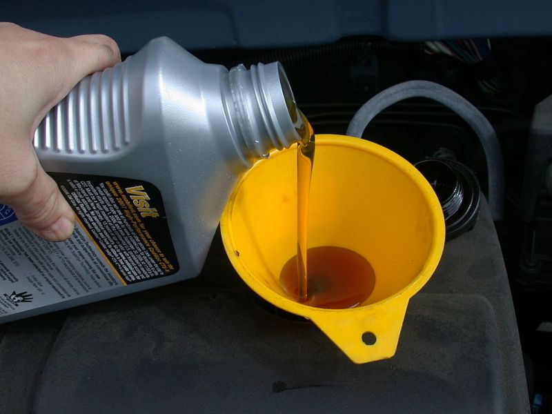 Using The Wrong Oil In Car