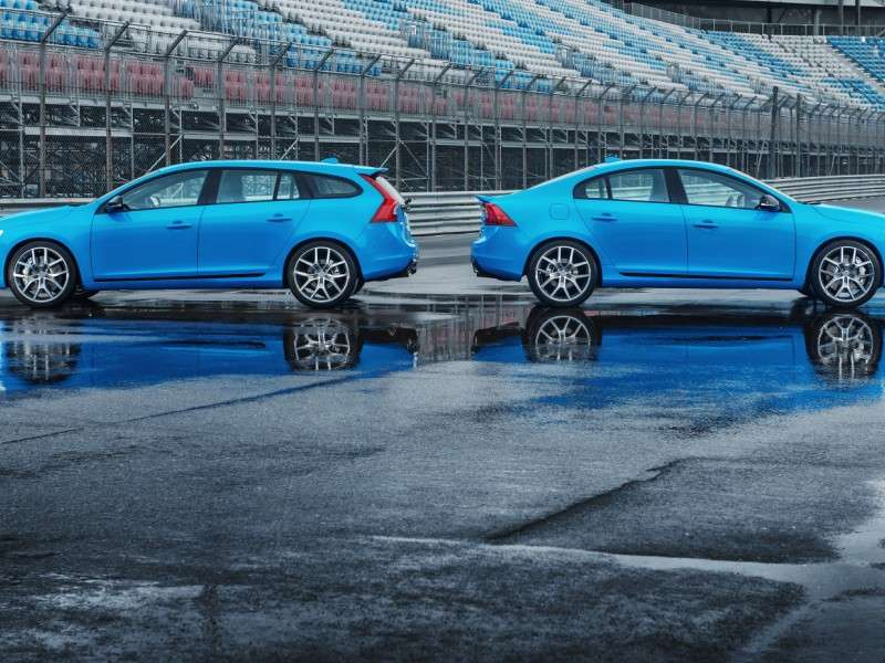 Production Of The Volvo S60 and V60 Polestar Begins