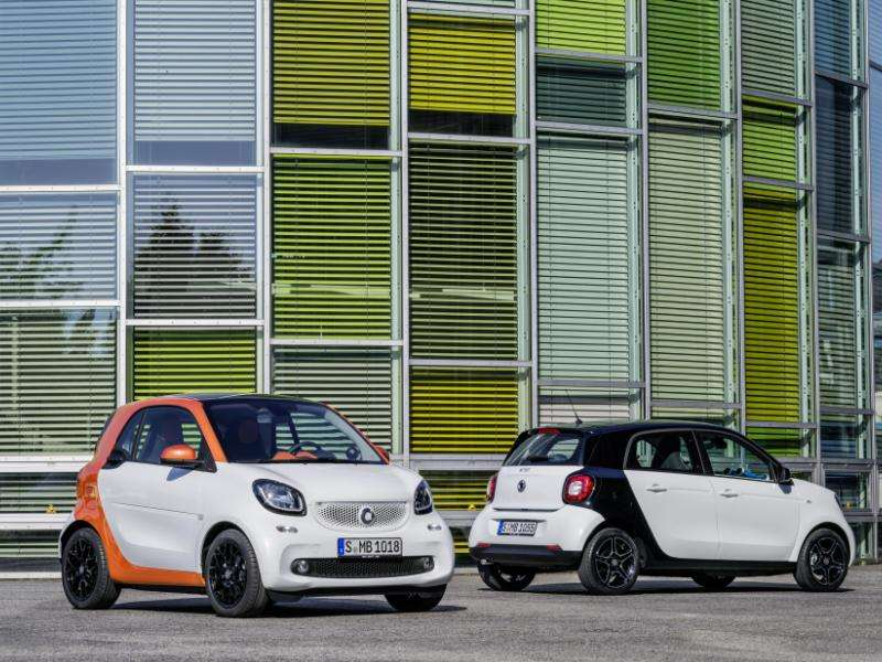 Brand-new 2016 smart fortwo Makes German Debut