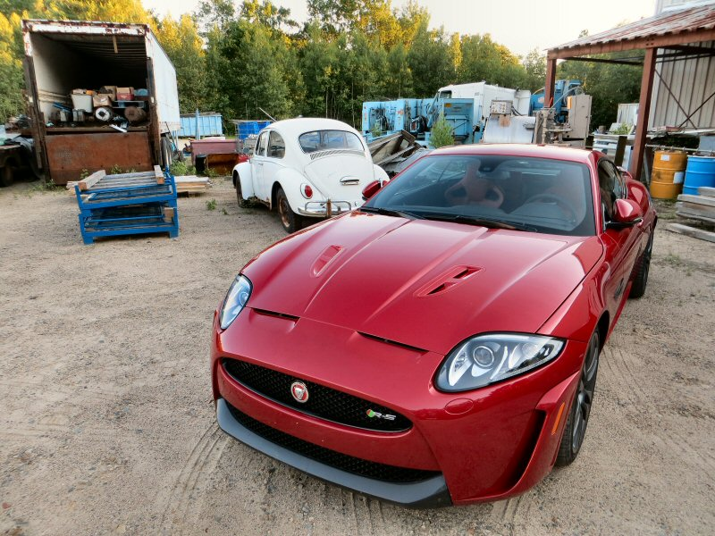 2015 Jaguar XKR-S Luxury Coupe Review