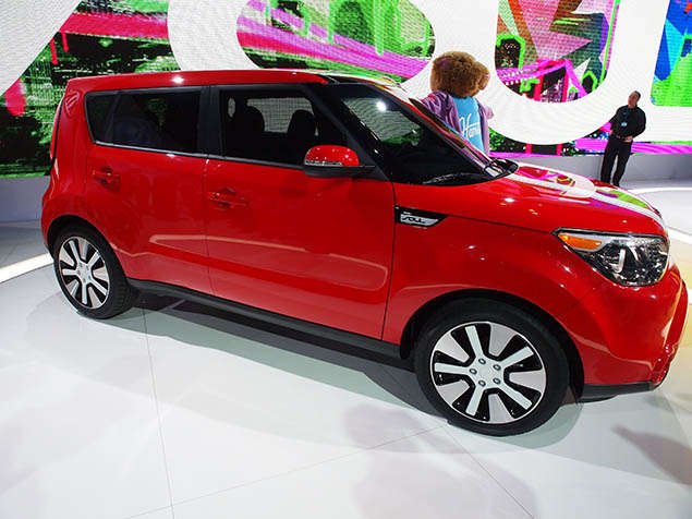 2014 Kia Soul Again Honored for International Design Excellence