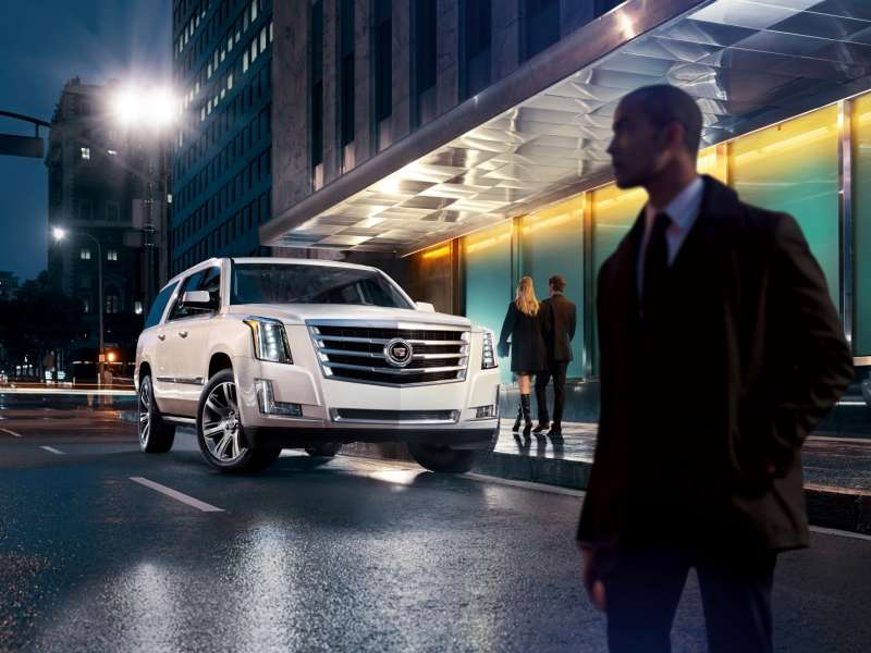 2015 Cadillac Escalade Builds Awareness with Architectural Digest
