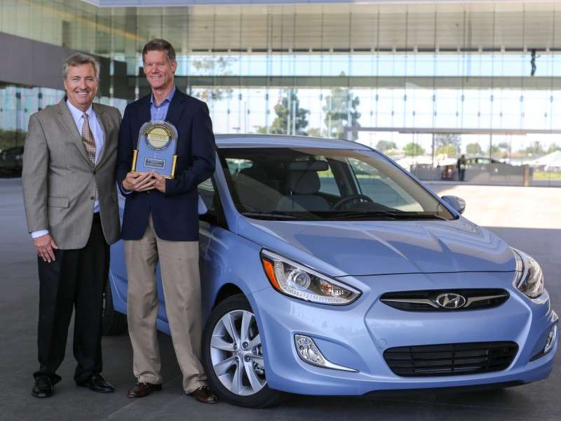 2014 Hyundai Accent Named No. 1 Small Car in APEAL Study