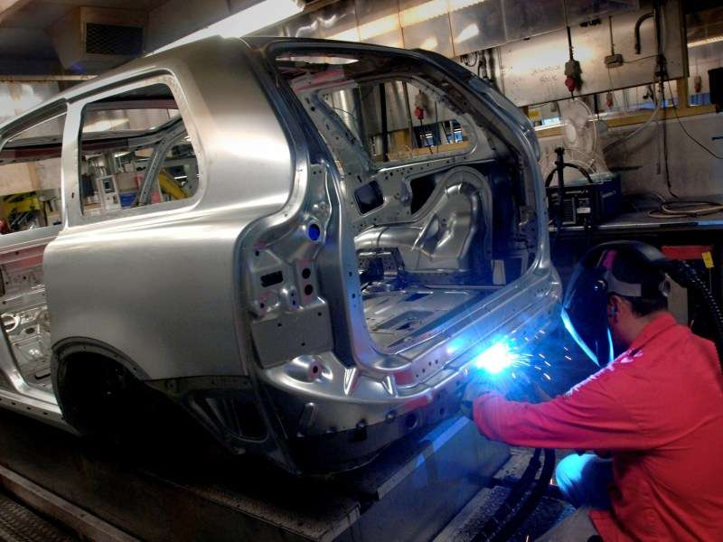 Volvo XC90 Reaches the End of the Production Line