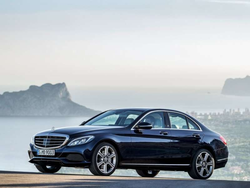 All new 2015 mercedes benz c class revealed for All new mercedes benz