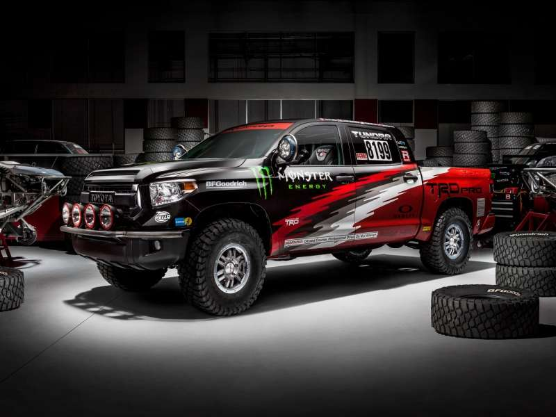 Toyota Sends A Tundra TRD Pro Series Into The Baja 1000