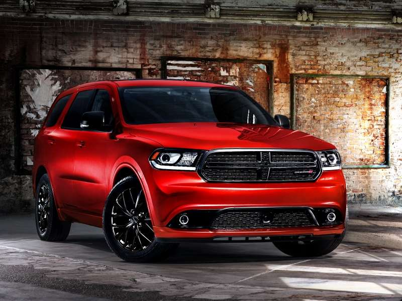 2014 Dodge Durango Debuts New Blacktop Package