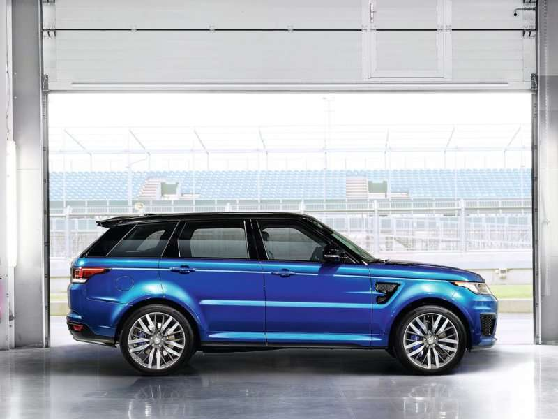 Land Rover Introduces the Range Rover Sport SVR