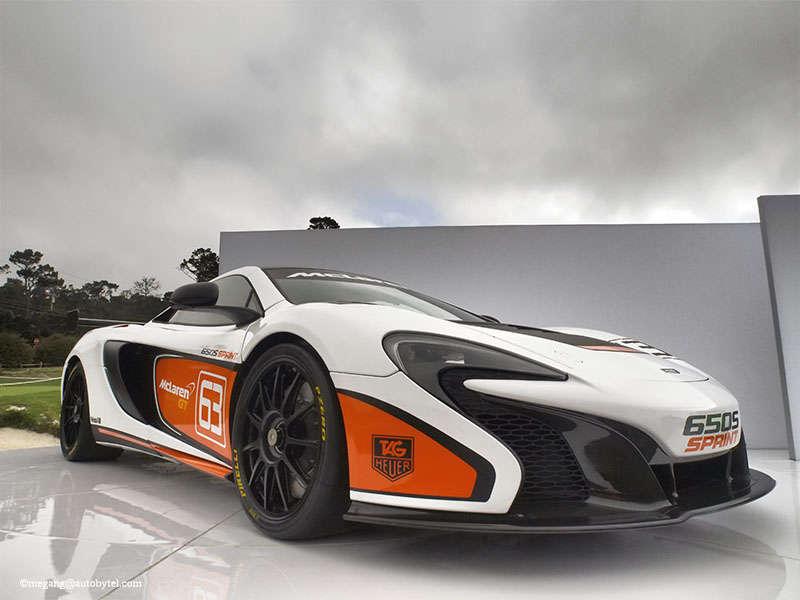 McLaren 650S Sprint Heads Off To Pebble Beach