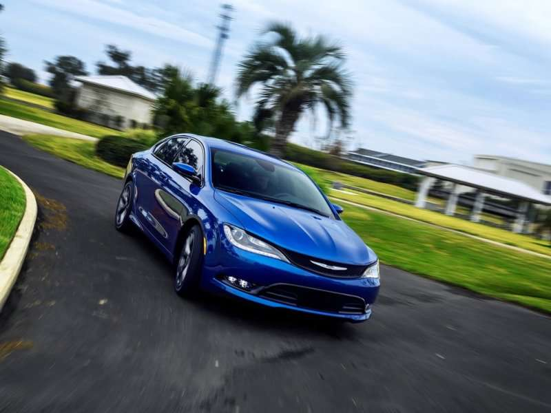 2015 Chrysler 200 Earn Top Safety Pick+ Rating