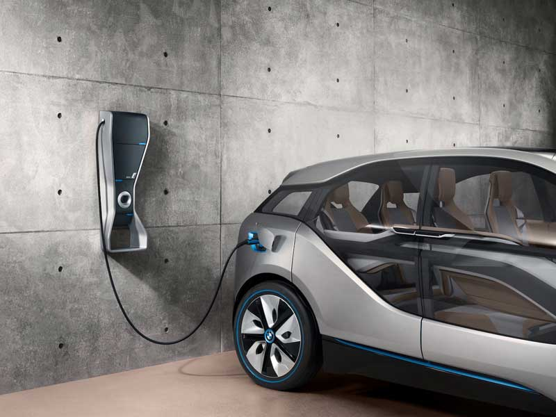 Inductive Charging Cars For The Inductive Charging