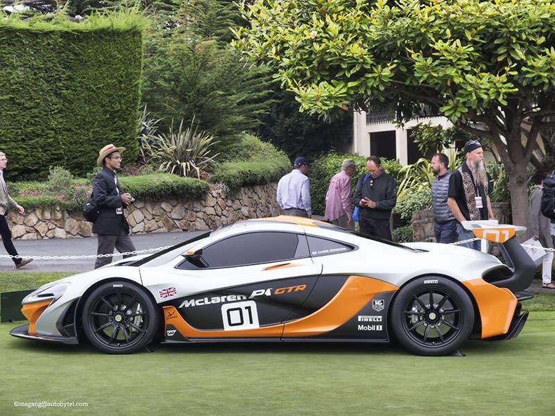 McLaren Debuts P1 GTR Design Concept