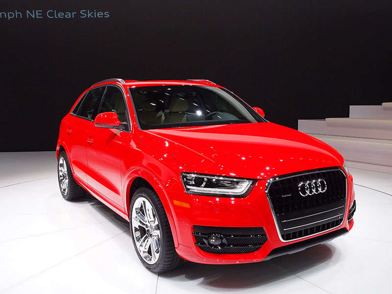 2015 Audi Q3 Joins Lineup for 2014 Emmy Awards