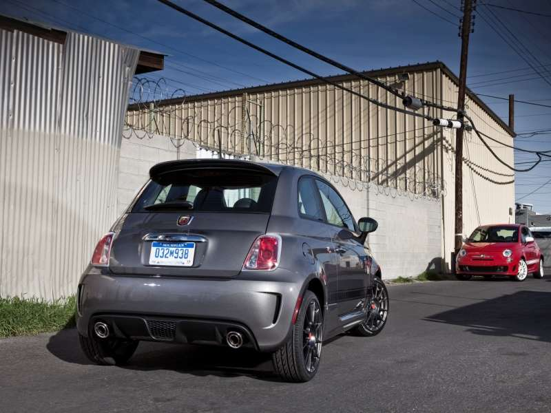 Customer Track Sessions Added For 2015 Fiat 500 Abarth