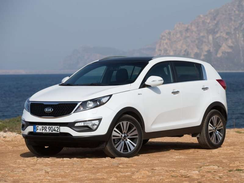 2015 Kia Sportage Sports MSRP of $21,750
