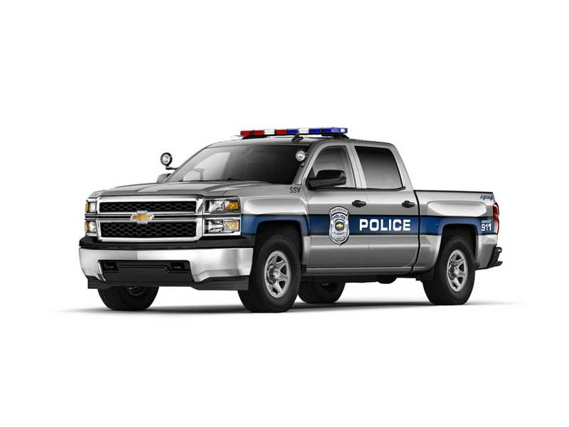 All About The 2015 Chevrolet Silverado 1500 Crew Cab Special Service Vehicle (SSV)