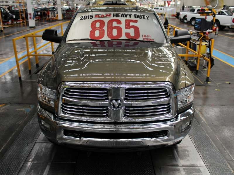 2015 Ram 3500 Sets New Heavy-duty Benchmarks
